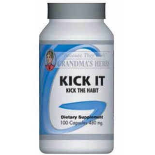 Grandma's Herbs Kick-It Supplement (100 Capsules)