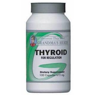 Grandma's Herbs 475mg Thyroid Supplement (100 Capsules)