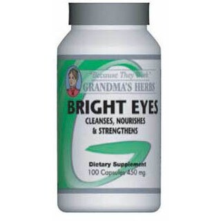 Grandma's Herbs Bright Eyes Supplement (100 Capsules)