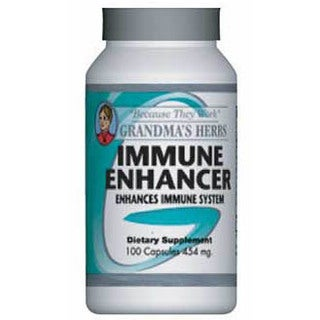 Grandma's Herbs Immune Enhancer 454mg Supplement (100 Capsules)