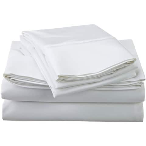 Superior Dawkins Egyptian Cotton Solid Deep Pocket Sheet Set