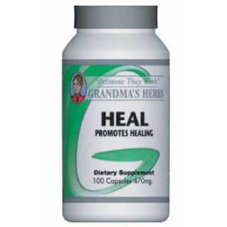 Grandma's Herbs Heal 470mg Supplement (100 Capsules)