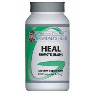 Grandma's Herbs Heal 470mg Supplement (100 Capsules)