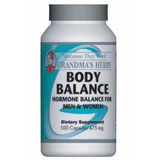 Grandma's Herbs Body Balance Supplement (100 Capsules)