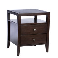 Leather Nightstands & Bedside Tables