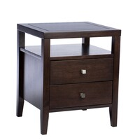 Beige Nightstands & Bedside Tables