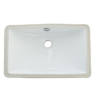 Courtyard White Undermount Lavatory Sink