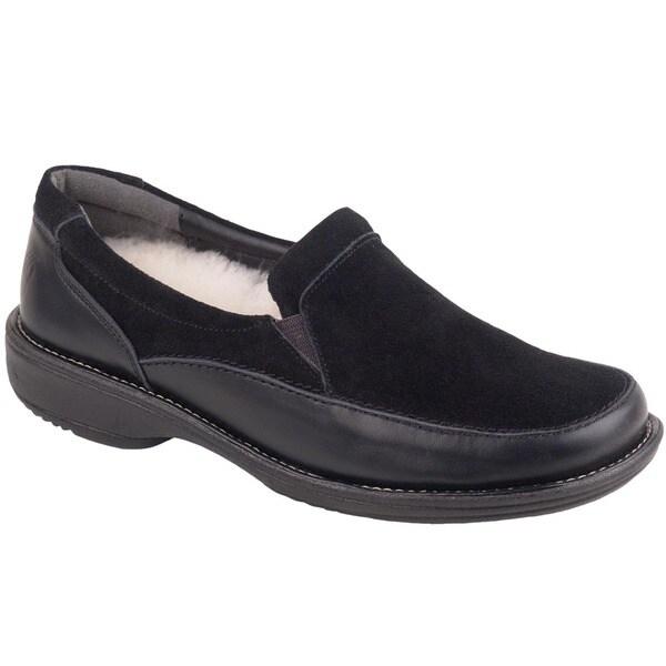 Bearpaw Marie Sheepskin Lined Suede Loafers