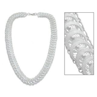 Handmade 'Full Moon Magic' Necklace (Indonesia)