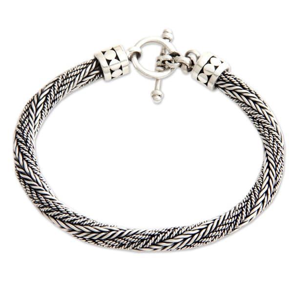 Mens bracelet braid