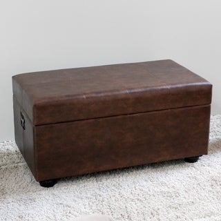 International Caravan Carmel Storage Bench