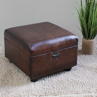International Caravan Carmel Ottoman Trunk with Lid