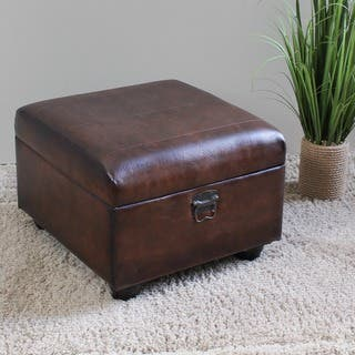 Buy Tan Ottomans Storage Ottomans Online At Overstockcom Our - Tan leather ottoman coffee table
