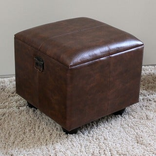 International Caravan Carmel Square Storage Ottoman