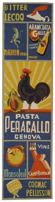 Safavieh Hand-hooked Vintage Poster Blue Wool Runner (2'6...