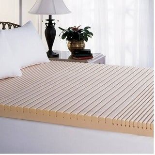 Beautyrest GeoMat Therapeutic 3.5-inch Foam Mattress Topper