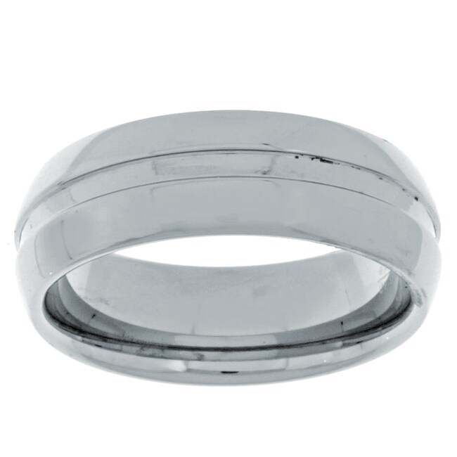 Men's Tungsten Carbide Comfort-fit Band (8 mm)