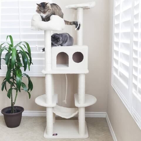 Majestic Pet 76-inch Bungalow Cat Tree