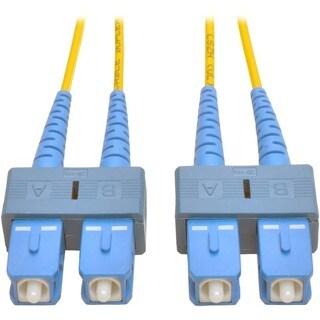 Tripp Lite 1M Duplex Singlemode 8.3/125 Fiber Optic Patch Cable SC/SC