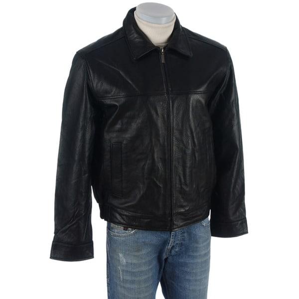 Boston Harbor Men's Leather Jacket