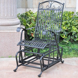 International Caravan Mandalay Iron Glider Chair