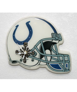 Collectible Indianapolis Colts Helmet Clock
