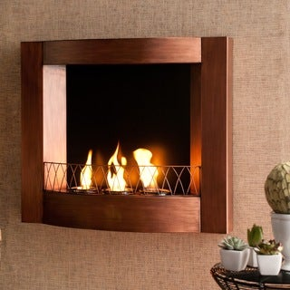 Harper Blvd Addison Copper Wall Mount Fireplace