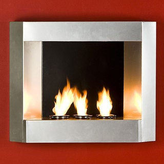 Harper Blvd Contemporary Wall Mount Gel Fuel Fireplace