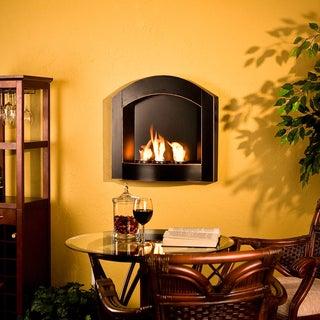 Harper Blvd Teva Arch Top Wall Mount Fireplace