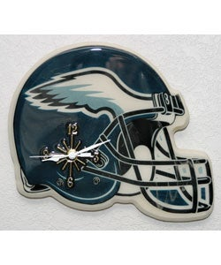 Philadelphia Eagles NFL Helmet Clock