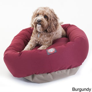 Medium 32-inch Bagel Donut Pet Dog Bed