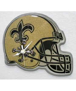 Saints Helmet Clock