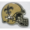 Saints Helmet Clock