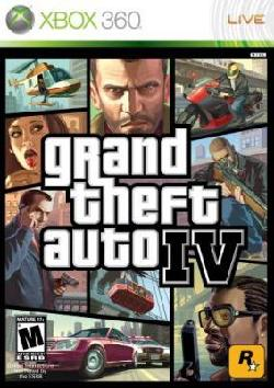 Xbox 360 - Grand Theft Auto IV - By Rockstar Games