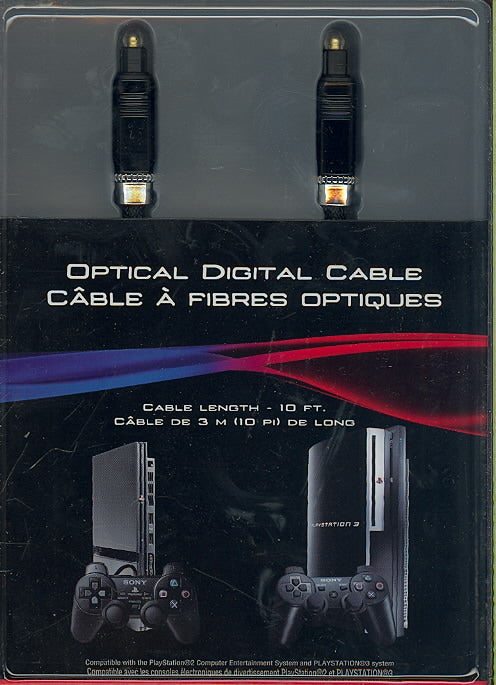 PS3 - Optical Digital Cable - By Sony Computer Entertainment