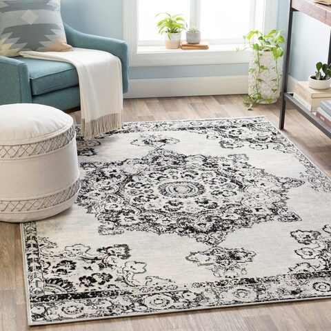 Gracewood Hollow Muradbegovic Persian Medallion Area Rug