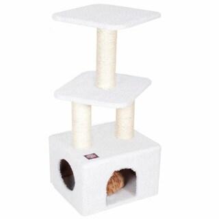 40-inch Bungalow Cat Furniture Tree Condo