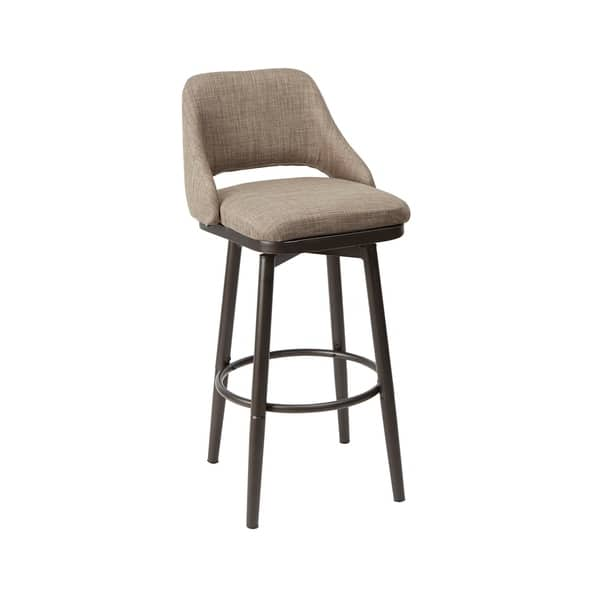 Awesome Shop Ari Adjustable Height Upholstered Barstool Free Gamerscity Chair Design For Home Gamerscityorg