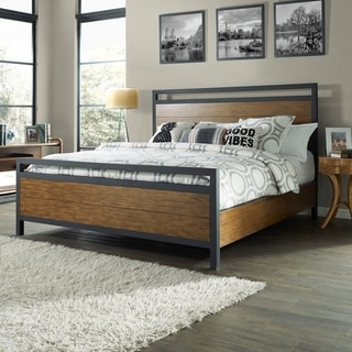 Langston Queen Bedset with Matching Side Rails