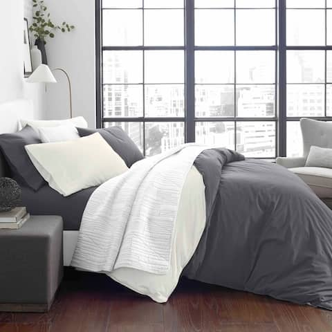 City Scene Domain Grey Duvet Cover Bonus Set