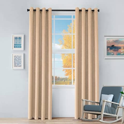 Miranda Haus Senna Insulated Thermal Blackout Grommet Curtain Panels