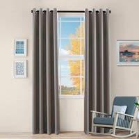 Miranda Haus Zuri 2-panel Insulated Thermal Blackout Grommet Curtain Panels