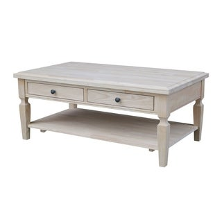 Copper Grove Limoges Unfinished Coffee Table