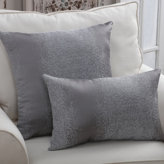 Porch & Den Langston Pewter Throw Pillow