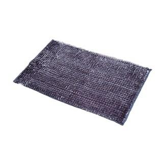 Evideco Satiny Microfiber Bath Mat Shaggy Loop - 31 x 20 x 0.8