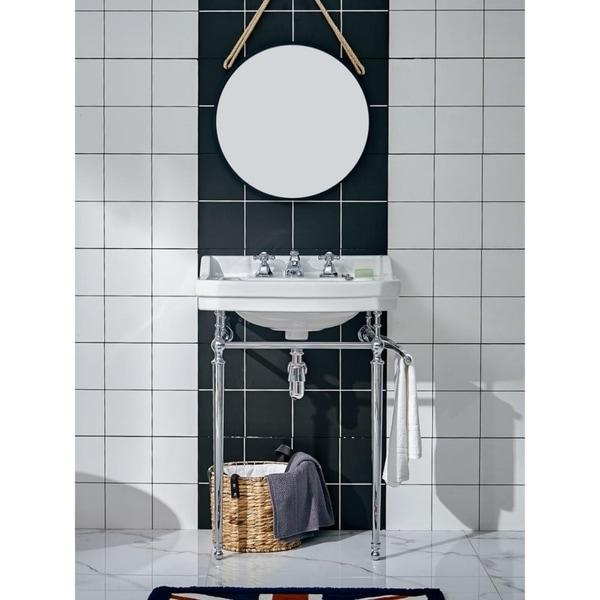Elmer- 24 inch Traditional Freestanding Vanity w/ Ceramic Sink