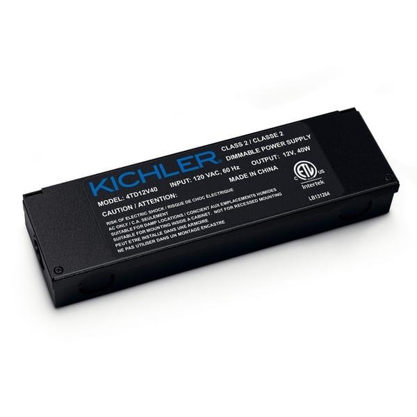 Shop Kichler Textured Black 12v Led Tape Light Power Supply
