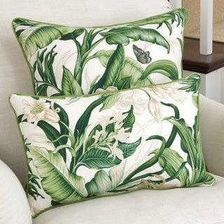 Pillow Perfect Wailea Coast Verte Throw Pillow