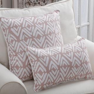 Porch & Den Loretta Blush Throw Pillow