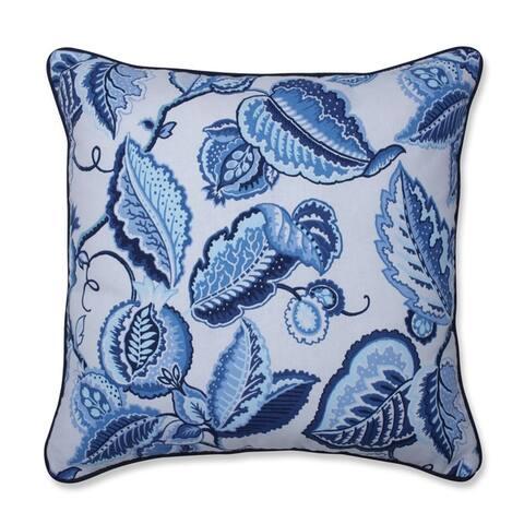 Fantasy Fleur Ocean Throw Pillow